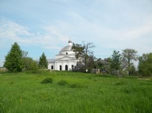 Успенскоий храм деревни Михеево