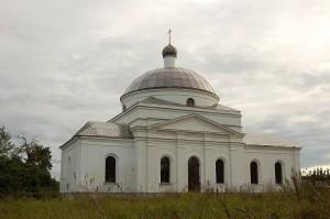 Успенский храм деревни Михеево (Абакшино)